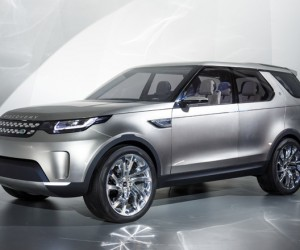 Land Rover unveils Discovery Vision Concept SUV