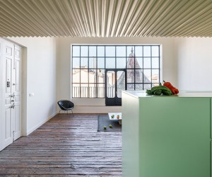 Langarita-Navarro Renovates Penthouse H in Madrid