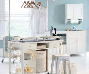 Laundry Room Carts: 12 Mobile and Space-Savvy Ways to Organize