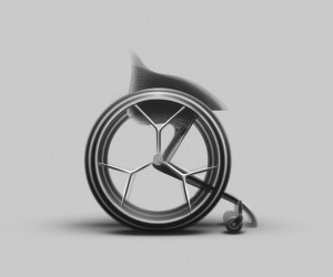 Layer Design Unveils Worlds First 3D-Printed Wheelchair