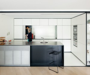 LDVD Apartment in Leuven by i.s.m.architecten.