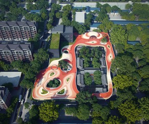 Le Cheng Kindergarten, Beijing, China  MAD Architects