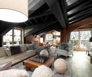 Le Petit Chateau Luxury Ski Chalet in Courchevel 1850