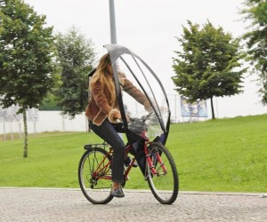 LeafXPro: The Bicycle Umbrella
