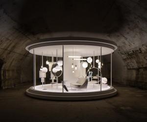 Lee Brooms Time Machine Installation at Milan Design Week
