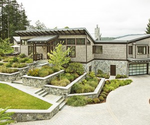 LEED Platinum West Coast Style Home on Prospect Lake