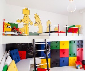 Lego Kids Room by Pebbledesign