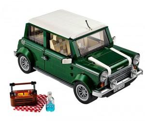 LEGO Releases A Replica Vintage Classic Mini Cooper
