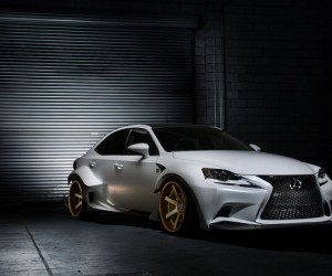 Lexus IS350 DeviantArt Edition
