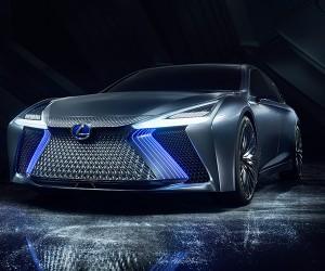 Lexus Unveils Its Autonomous LS Concept