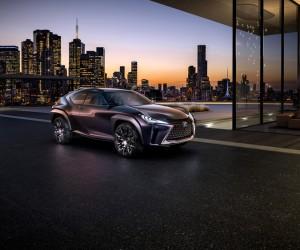 Lexus unveils UX Concept SUV