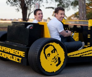 Life-Size LEGO Car Powered by Air