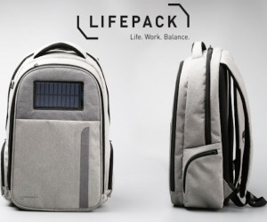 LIfepack: Solar Powered, Anti-Theft Backpack