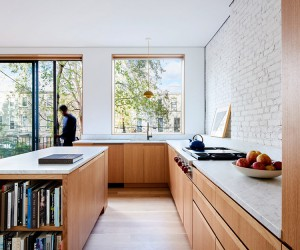 Light and Air Architecture Renovates Brooklyn Row House