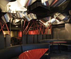 Light Cave restaurant  bar in Tokyo by Moriyuki Ochiai