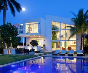 Light-Infused Panoramic Family Home in Golden Beach Florida