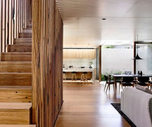Light Wells and Garden Features Transform Urbane Aussie Home