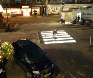 Lighted Zebra Crossing