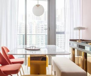 Lim  Lu Designs 46 SQM Bachelor Flat in Hong Kong