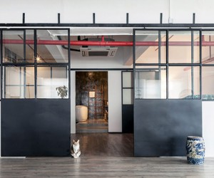Lim  Lu Transform A Warehouse Into Industrial Loft In Hong Kong