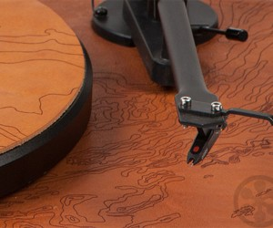 Limited Edition Leather  Wood Turntables