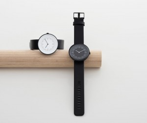 Line timepieces by Samuel Wilkinson for Nomad