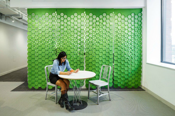 Link A Multifunctional and Stylish Modular Room Divider