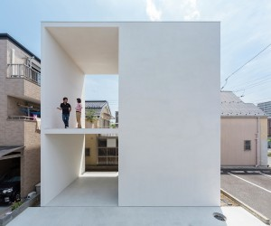 Little House with a Big Terrace by Takuro Yamamoto