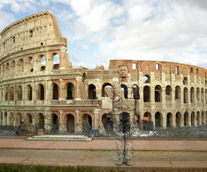 Liu Bolin Brings His Camouflage Artworks To Rome