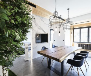 Live-Work Apartment in Rome by Brain Factory Studio