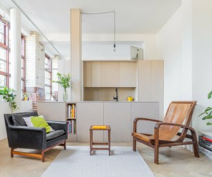 LiveWork Apartment in a Former Biscuit Factory in Bethnal Green, London