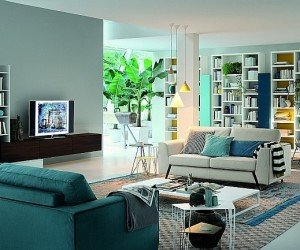 Living Room Units Blend Italian Finesse With Modern Functionality
