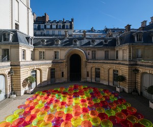 Liz Wests Aglow Installation At Paris Fashion Week