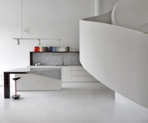 Loft Apartment West Melbourne by AAArchitects