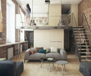 Loft design by The Goort