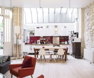 Loft in a former printing house in Paris