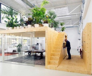 Loft Office for Architecture in Rotterdam
