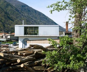 Loft Riva San Vitale by Durisch  Nolli