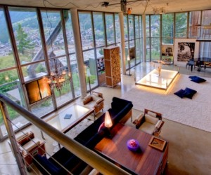 Loft style chalet in Switzerland