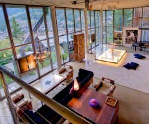 Loft style chalet in Switzerland