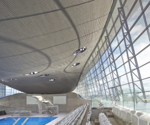 London Aquatics Centre by Zaha Hadid opens to the Public