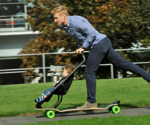 Longboard Stroller  For Your Child And The Child in You