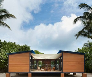 Louis Vuitton Brings Charlotte Perriands 1934 Modern Beachside Home To Reality.