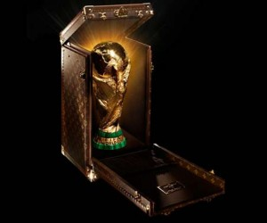 Louis Vuitton Designs Custom Trophy Case for the 2014 FIFA World Cu