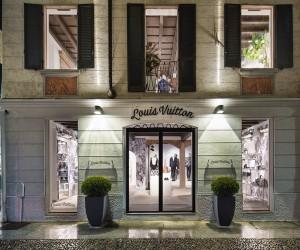 Louis Vuitton Mens Pop-Up Store in MIlan