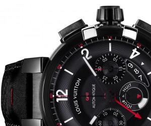 Louis Vuitton Tambour Volution GMT In Black Watches