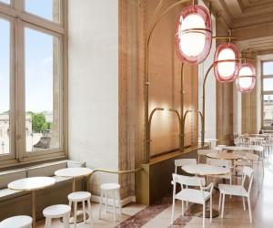 Louvres Caf Mollien by Mathieu Lahanneur