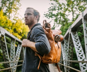 Loyal Stricklin Leather Rucksack