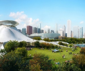 Lucas Museum of Narrative Art by MAD Architects