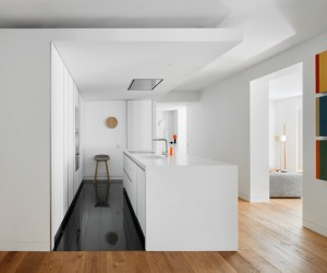 Lucas y Hernndez-Gil renovates 19th-century Apartment in Madrid